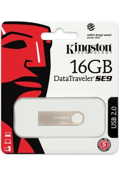 Kingston 16 Gb Usb 2.0 Memory Dtse9H/16Gb