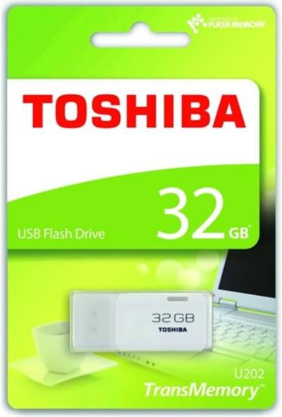 Toshiba Hayabusa 32Gb Usb2.0 Thn-U202W0320E4 Beyaz