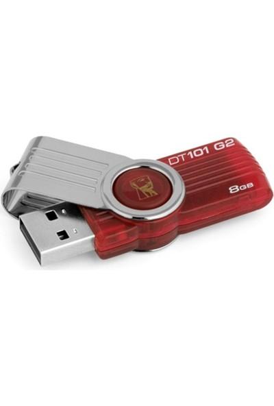 Kingston 8 Gb Usb 2.0 Memory Dt101G2/8Gb