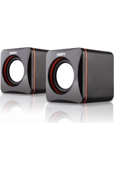 Snopy Sn-21 1+1 Mini Usb Speaker 3W