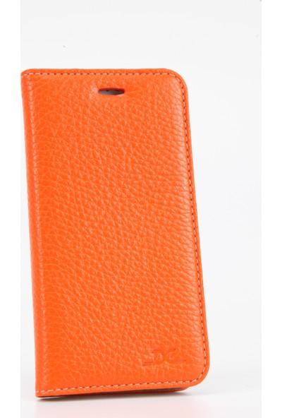 DC Apple iPhone 6 / 6S Luca Magnet Deri Mıknatıslı Kartlıklı Stand Kılıf
