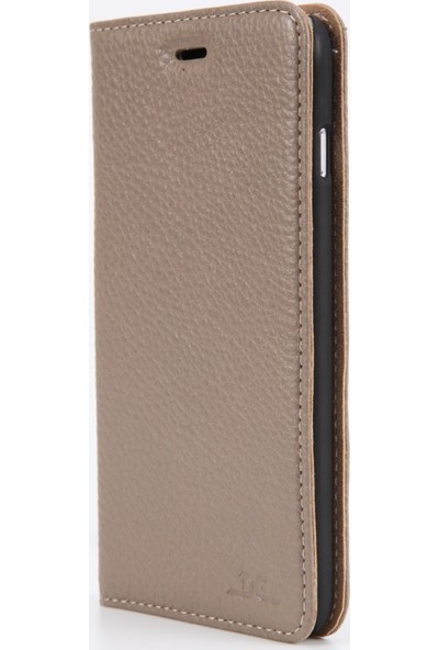 DC Apple iPhone 6/6S Plus Luca Magnet Deri Mıknatıslı Kartlıklı Kılıf