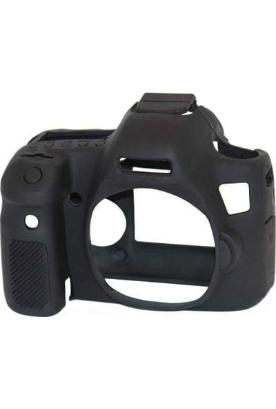 Canon 6D Siyah EasyCover (Silikon Kılıf)