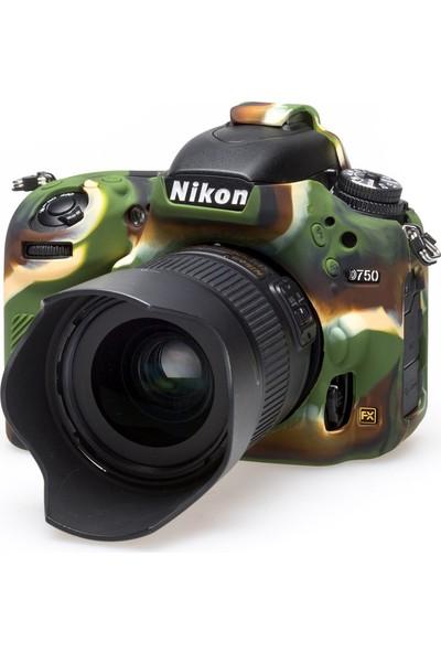 Nikon D750 Kamuflaj EasyCover (Silikon Kılıf)