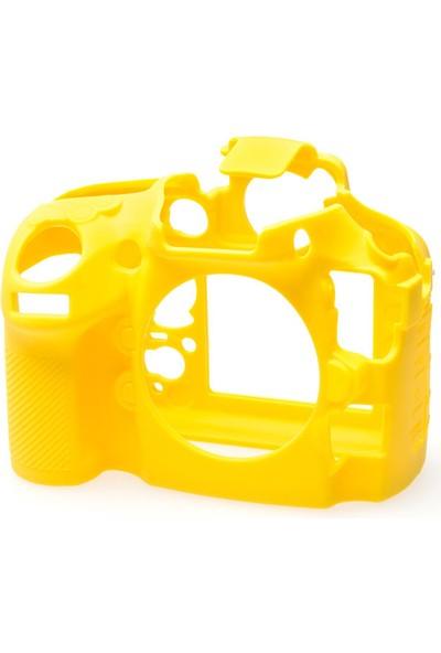 Nikon D800/D800E Sarı EasyCover (Silikon Kılıf)