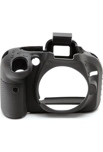 Nikon D5200 Siyah EasyCover (Silikon Kılıf)