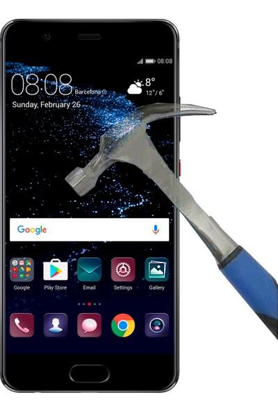 Teleplus Huawei P10 Plastik Ve Cam Ekran Koruyucu Karışımı Nano Cam Ekran Koruyucu