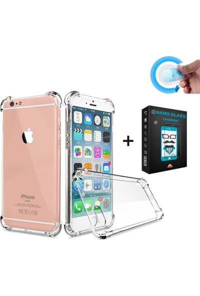 Case Man Apple iPhone 7 Kılıf + Nano Glass