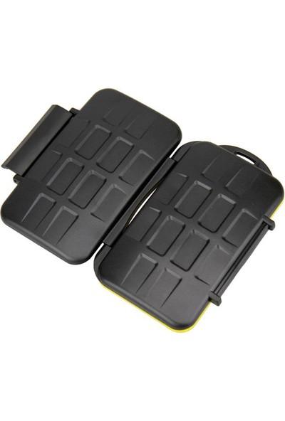 JJC Memory Card Case Hafıza Kartı Kutusu (2 CF Kart & 2 SD Kart & 4 MicroSD Kart)