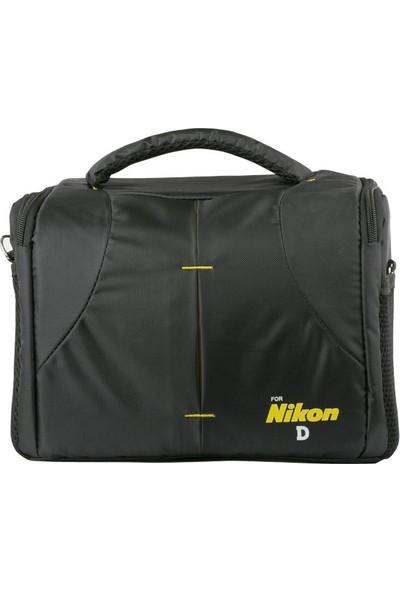 Emolux 77mm UV Filtre + Temizlik Kiti + Nikon Çanta
