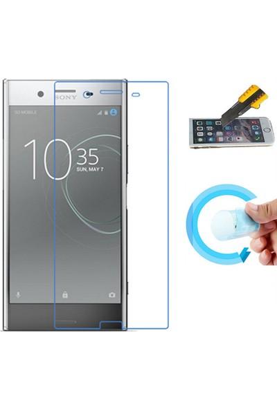 Microcase Sony Xperia XZ Premium Nano Glass Esnek Cam Ekran Koruma