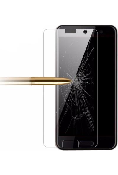 Microcase Htc U Play Tempered Glass Cam Ekran Koruma