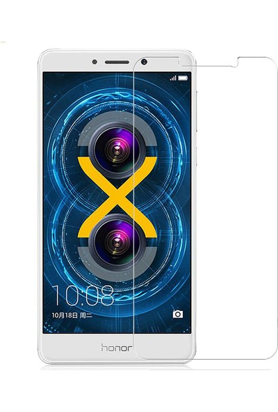Microcase Huawei GR5 2017 Tempered Glass Cam Ekran Koruma