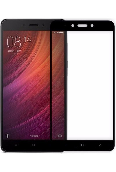 Microcase Xiaomi Mi 5S Plus Flexible Çerçeveli Esnek Tempered Cam Koruma