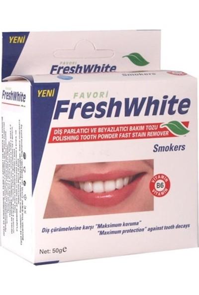 Fresh White Diş Tozu Smokers 50 Gr.