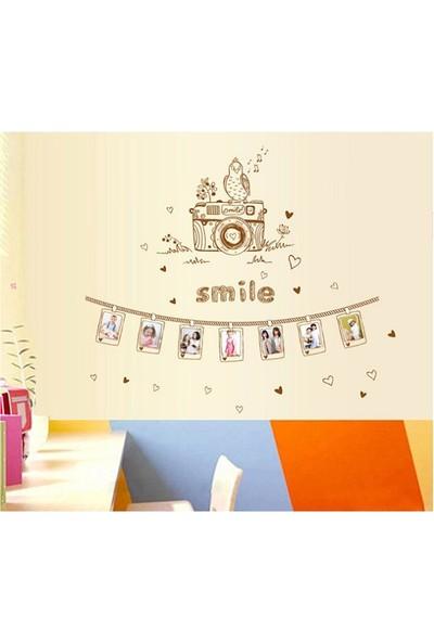 Ev Dekorasyonu Fotoğraf Çerçeveli Kendinden Yapışkanlı PVC Duvar Sticker Duvar Dekor Hediyelik Görsel