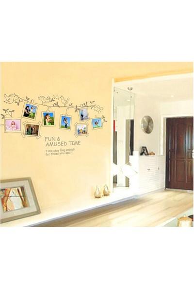 Fotoğraf Resim Çerçeveli Ev Dekorasyonu Kendinden Yapışkanlı PVC Duvar Sticker Hediyelik Duvar Dekor