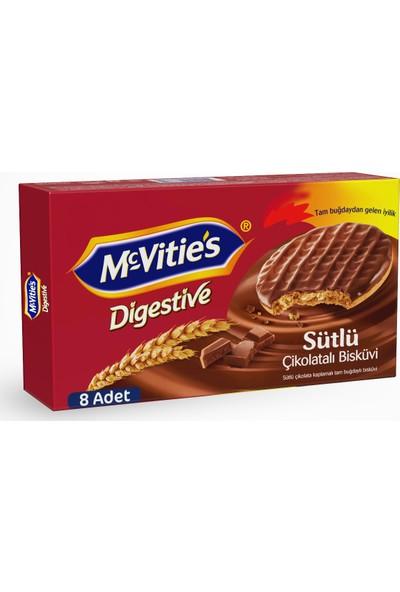 Mcvities Digestive Sütlü Çikolatali 91Gr 15 Adet