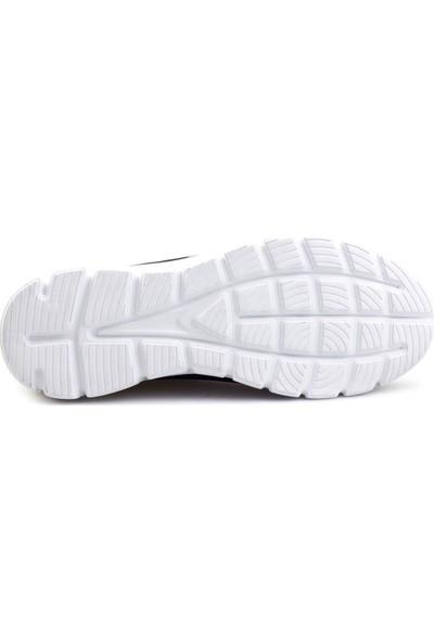 Cabani Hafif Taban Lazerli Sneaker Erkek Ayakkabı Lacivert Nubuk