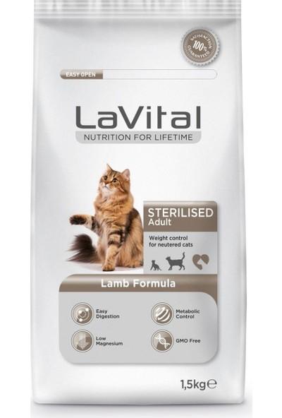 Lavital Cat Adult Sterilised Lamb Kedi Maması 1,5 kg