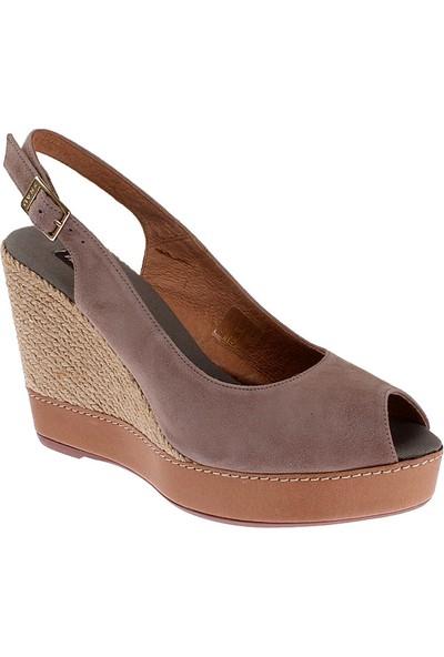 Frau Camoscio 79C1 Kadın Ayakkabı Kahverengi