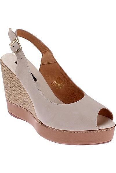 Frau Camoscio 79C1 Kadın Ayakkabı Ecru