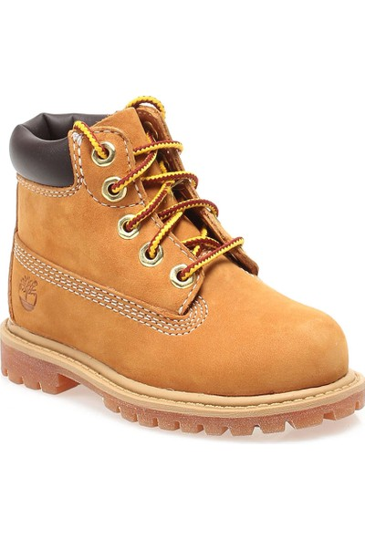 Timberland 42708 Size 12809 Çocuk Bot Wheat Nubuck