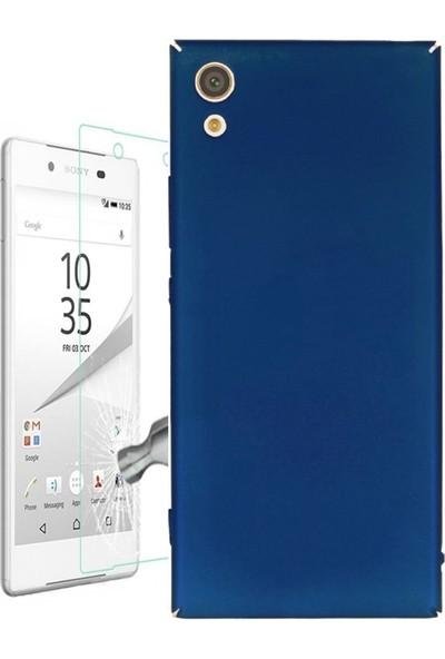 Kılıfshop Sony Xperia Xa1 Slim Rubber Kılıf + Nano Cam Ekran Koruyucu