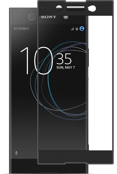 Kılıfshop Sony Xperia Xa1 Ultra Tam Ekran Koruyucu