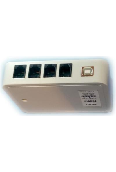 Caller Id Modem 4 Port Cıd604, Müşteri Tanıma, Paket Servis