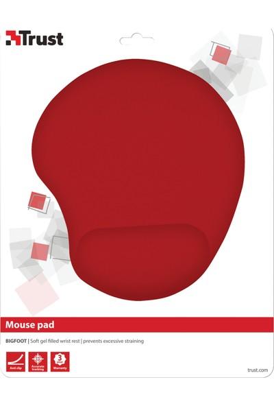 Trust Bıgfoot Jel Mouse Pad Tru20429 Bilek Destekli Kırmızı