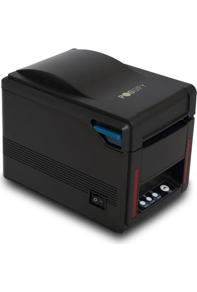 Possify My830X2 Kağıt Sensörü Usb+Seri+Ethernet Fiş Yazıcı
