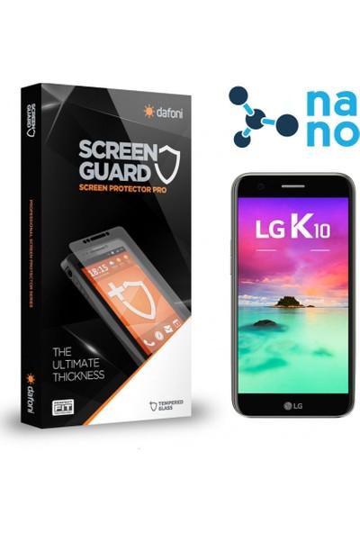 Dafoni LG K10 2017 Nano Glass Premium Cam Ekran Koruyucu