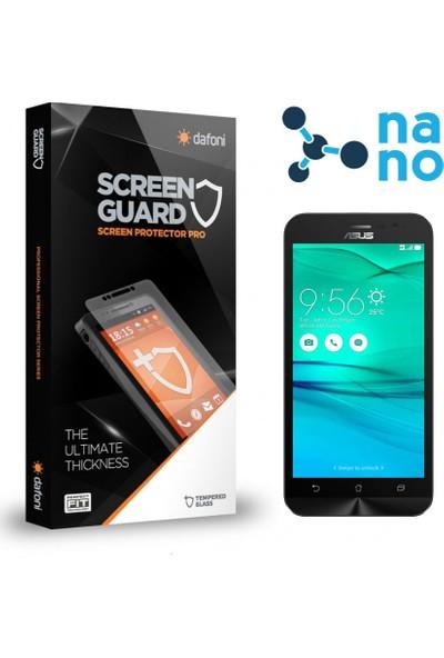 Dafoni Asus ZenFone Go 2 ZB500KL Nano Glass Premium Cam Ekran Koruyucu