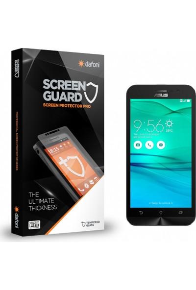 Dafoni Asus ZenFone Go 2 ZB500KL Tempered Glass Premium Cam Ekran Koruyucu
