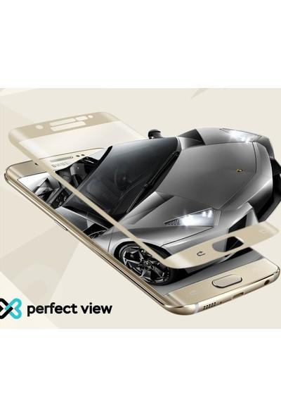 Eiroo Sony Xperia XA1 Curve Tempered Glass Full Cam Ekran Koruyucu