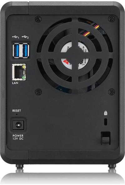 "Zyxel NAS326 2-Disk Slotlu 16TB 2.5""/3.5"" SATA I/II Harddisk DLNA myZyxelcloud DDNS ISCSI Destekli Uzaktan Yönetilebilir Ağ Veri Depolama Cihazı"