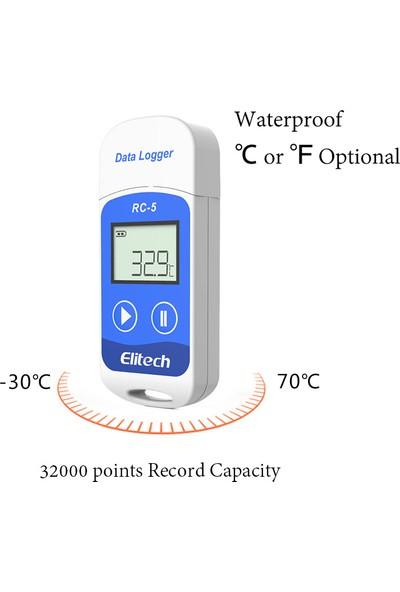 Elitech Mini Sıcaklık Kayıt Cihazı Datalogger Rc-5 Thr235