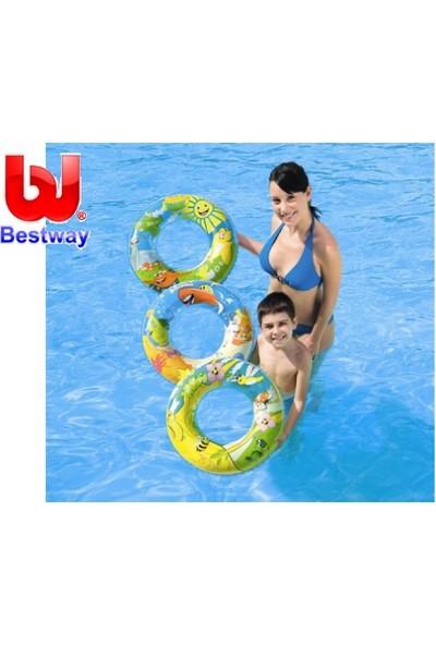 Bestway Bw36013B Simit 56 cm Deniz Dünyası 36