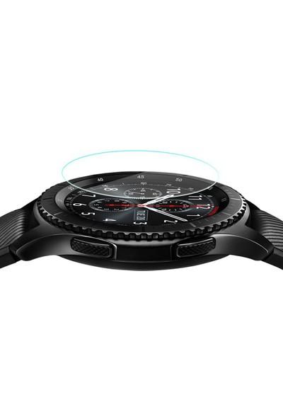 Microsonic Samsung Gear S3 Frontier Temperli Cam Ekran koruyucu Kırılmaz film