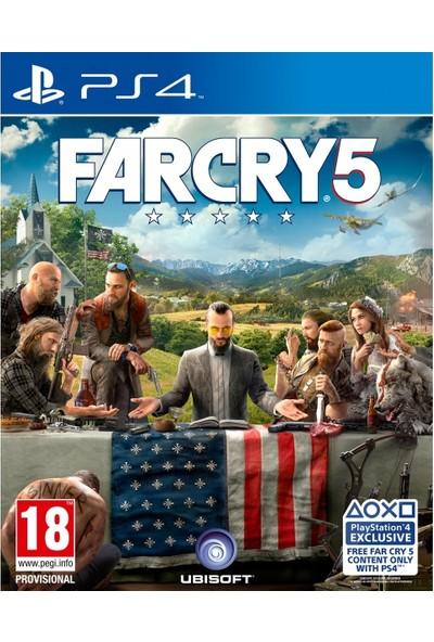 Far Cry 5 PS4 Oyun