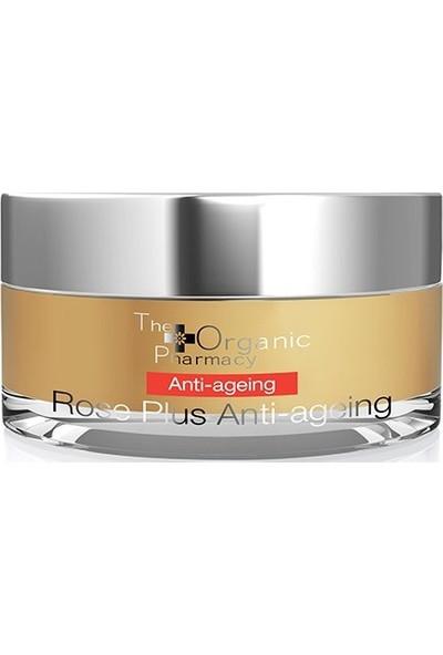 The Organic Pharmacy Rose Plus Anti-Ageing Face Cream Anti Aging Etkili Yüz Kremi 50ml