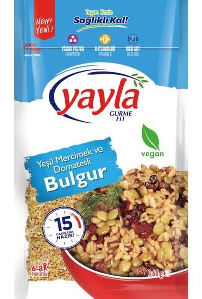 Yayla Gurme Fit Yeşil Mercimek &Domatesli Bulgur 360 gr