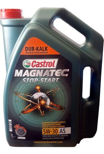 Castrol Magnatec A5 5W-30 7 Litre 2020 Tarihli Wss-M2C913-D