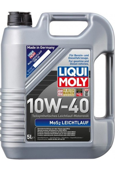 Liqui Moly Mos2 Leichtlauf 10W-40 - 5
