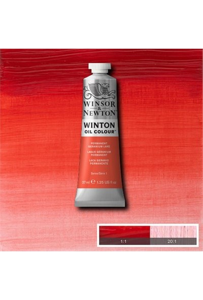 Winsor Newton Winton 37 Ml Yağlı Boya No 22 Permanent Geranium Lake