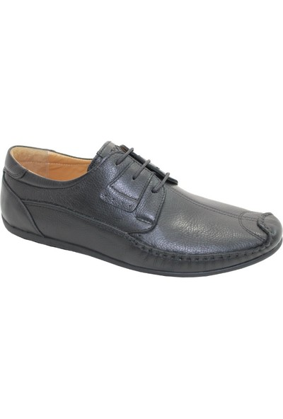 Çetintaş Hakiki Deri Ayakkabı Siyah
