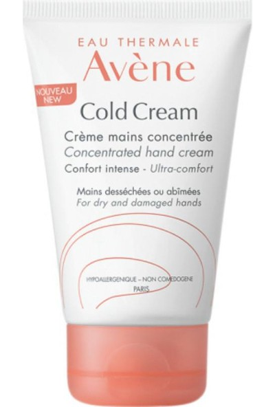 Avene Cold Creme Maıns Concentree 50 Ml