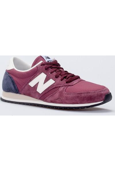 New Balance 420 Bordo Kadın Günlük Ayakkabı