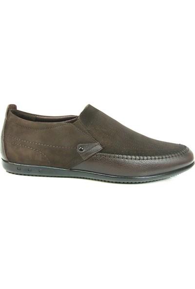 Dropland 3439 Kahverengi Bağcıksız Casual Erkek Ayakkabı